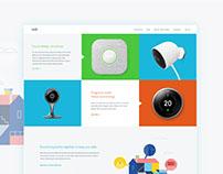 Nest Redesign || Web Design Concept