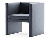Furniture visualization. Fabric variations