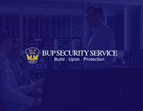 BUP Security Service Website Design