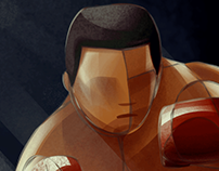 Muhammad Ali - World Illustration Challenge