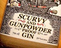 S&O's Scurvy & Gunpowder Proof Gin