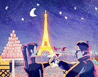 Sofitel Luxury Hotels' Midnight in Paris Animation