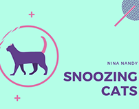 Snoozing Cats| Nina Nandy