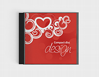 Cd Cover Design Mock UP free psd