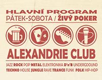 Alexandrie Poker Club (designová studie)