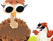 Revista ¡elé! - Animal World Ostrich
