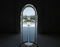Landscape design-πρότυπο μαυριτανικού κήπου