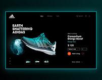 Adidas UI Concept