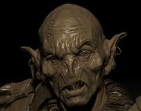 Orc sculpt