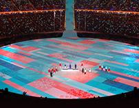 2018 PyeongChang Medal Award Ceremony Mapping Desing