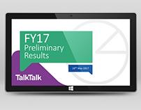 TalkTalk FY17 Preliminary Results Presentation