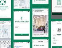 Crutch Assist—A Case Study & App Design
