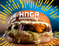 HNGR Food | Corporate Identity