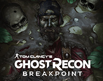 GHOST RECON BREAKPOINT - NOMAD - fanart poster cover