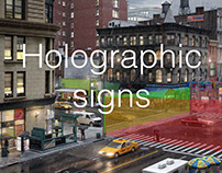 holographic signs