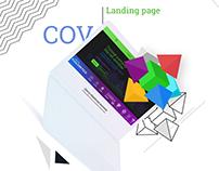 COV – Landing Page