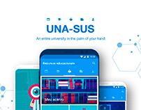 UNA-SUS - Distance Education App