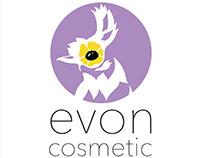 Evon Cosmetic Logo Design