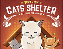 Cat Shelter - Kitten Rescues Flyer Template