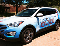 Pi Beta Phi Vehicle Wrap
