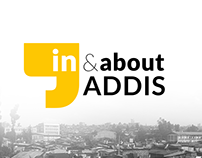 In & about ADDIS website  Logo Design + Social