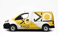 Création de l'identité visuelle KACO DELIVERY by SD