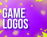 UI/UX and animated logo of games