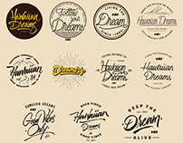 Calligraphy and Lettering set: 2015 - 2017 | HD Brand