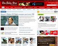 Website UI - Pitch - Newspaper