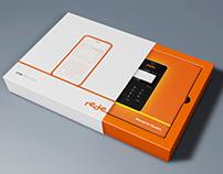 Rede :: Embalagem e manual de uso