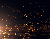 Particle Drops-After Effect's Trapcode and Form