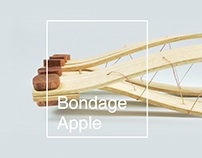 Bondage Apple Holder