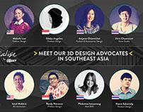 3D design advocates