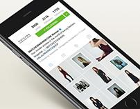 DVF x MatchesFashion.com Instagram takeover