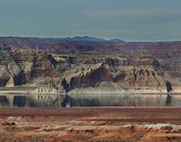 Lake Powell in February