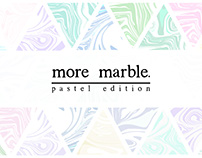 More Marble. Pastel Edition