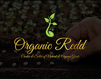 LOGO + BRANDING design for ORGANIC REDD