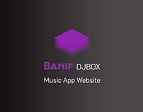 Banif Djbox App Website