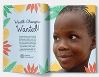 Graphic Design- Children's International Campaign