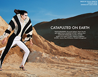 "Catapulted On Earth ""MIROIR MAGAZINE"""
