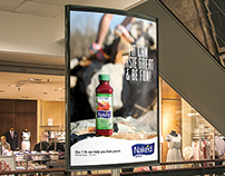 Poster Billboard Magazine Ads - Naked Juice