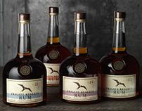Frigate Reserve Rum Logo, Packaging & Custom Bottle