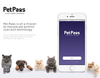 Pet Paws Mobile App