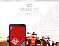 BIC mobile app