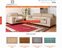 Website Design & Development for Carpet Vala