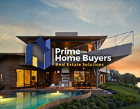 Prime Home Buyers Logo Design