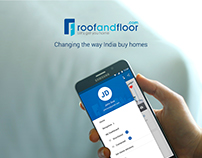 RoofAndFloor Mobile App Design