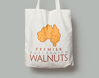 Premier Australian Walnuts - Logo & Branding Design