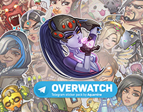 Overwatch Stickers