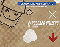 CardBoard Citizens - ( After Effect Template )